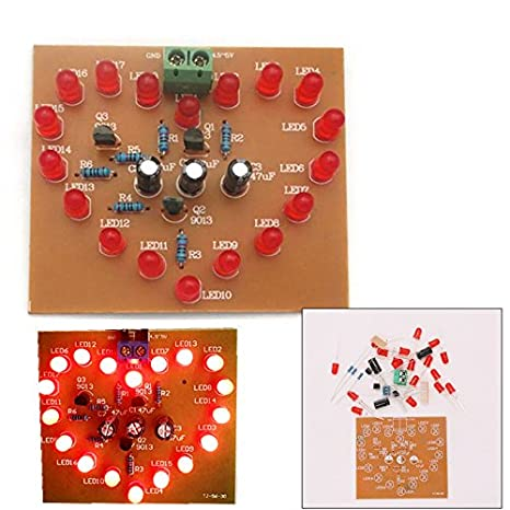 Amazon.com: SHAPB DIY Kit de luces LED con forma de corazón ...