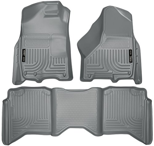 Husky Liners 99002 Front & 2nd Seat Floor Liners Fits 09-17 Ram 1500 Crew Cab - Crew Cab Part