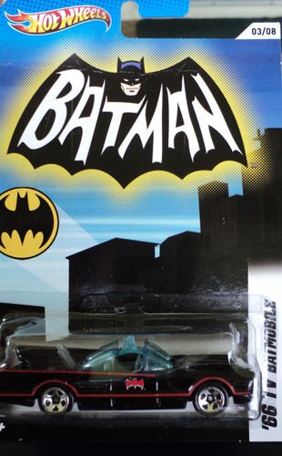 (2012 HOT WHEELS BATMAN 66 TV batmobile 03/08)
