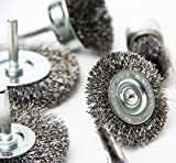 eHomeA2Z Wire Wheel Steel Brushes