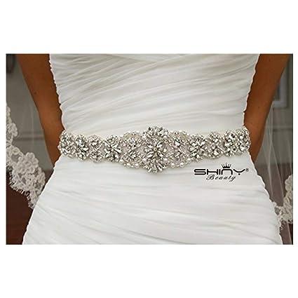 Amazon.com: Wedding Sash Ivory ~Bridal Sash, Wedding Sash