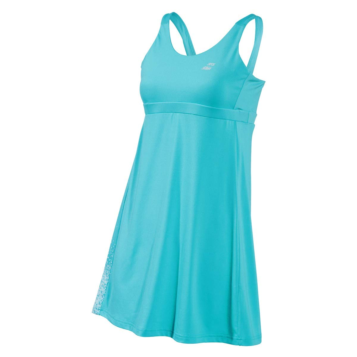 Babolat Girls Performance Lightweight Breathable Tennis Dress with Shorties, Horizon Blue (Youth Size 12-14)