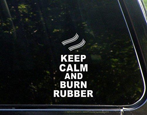 Keep Calm Burn Rubber Macbooks product image