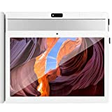 10 inch Android Tablet, 4GB RAM 64GB ROM, GMS Certified, Octa-Core CPU, 5G-WiFi, IPS HD Display, GPS, Bluetooth, Learning Tablet, H1 (Silver)