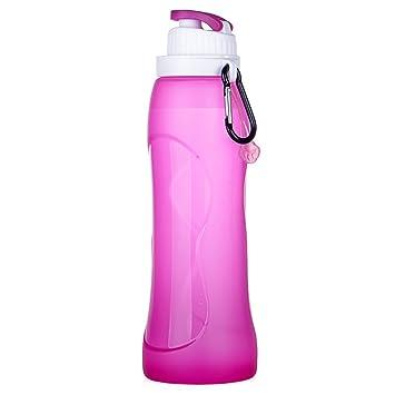 Plegable silicona para botellas de agua – Sports bottles – Botella de