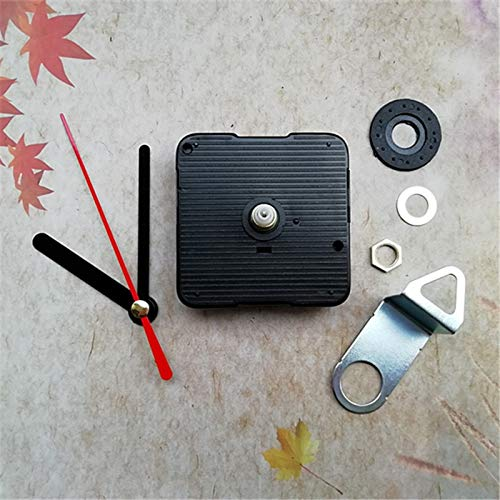 Maslin 10PCS Quiet Sweep 18.5MM Shaft Insert Clockworks for Student DIY Long Spindle Clock Mechanism