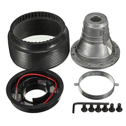 Cikuso 17MM Steering Wheel Hub Boss Kit Adapter N-7 fit FOR NISSAN S13 S14 S15 R33 R34