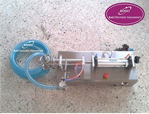 Boshi Electronic Instrument 5-100ml pneumatic liquid filling machine,liquid filler for shampoo,oil,perfume (18b 5 Tool)