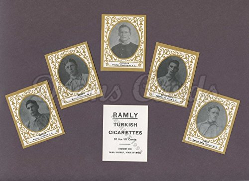 Ramly Reprint 1909 T204 Ramly Cigarettes Reprint Complete Set (Baseball Set) Dean's Cards 8 - NM/MT ()