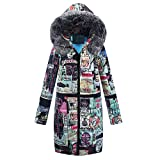 Best Warmest Winter Coats - Womens Jackets, KIKOY Winter Long Down Cotton Ladies Review