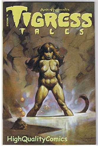 TIGRESS TALES #4, Limited, Femme,Mike Hoffman, 2001, NM