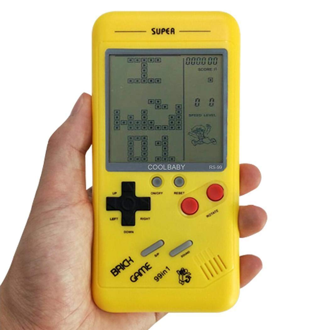 Youandmes Children Tetris Game Console, Portable Kids Game Handheld Toys by Youandmes (Image #5)