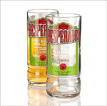 Who S Glassworks Verre Recycle Biere Desperados Bouteille Lunettes Amazon Fr High Tech