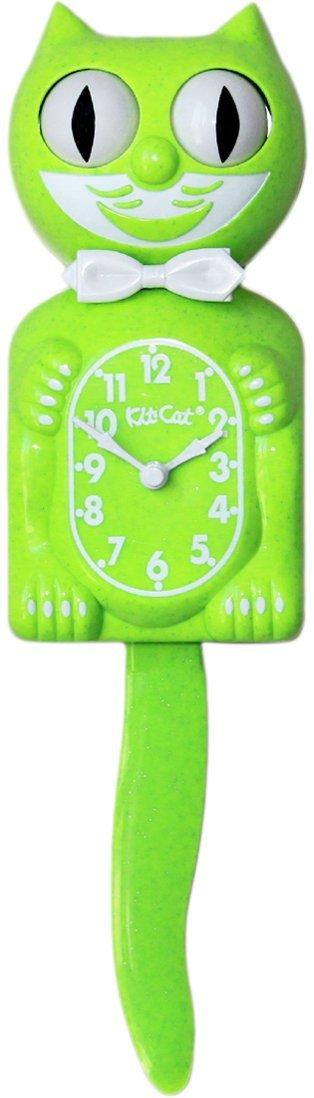 Kit Cat Klock Gentlemen with Batteries Included (Fun Chartreuse) by Kit Cat Klock (Image #1)