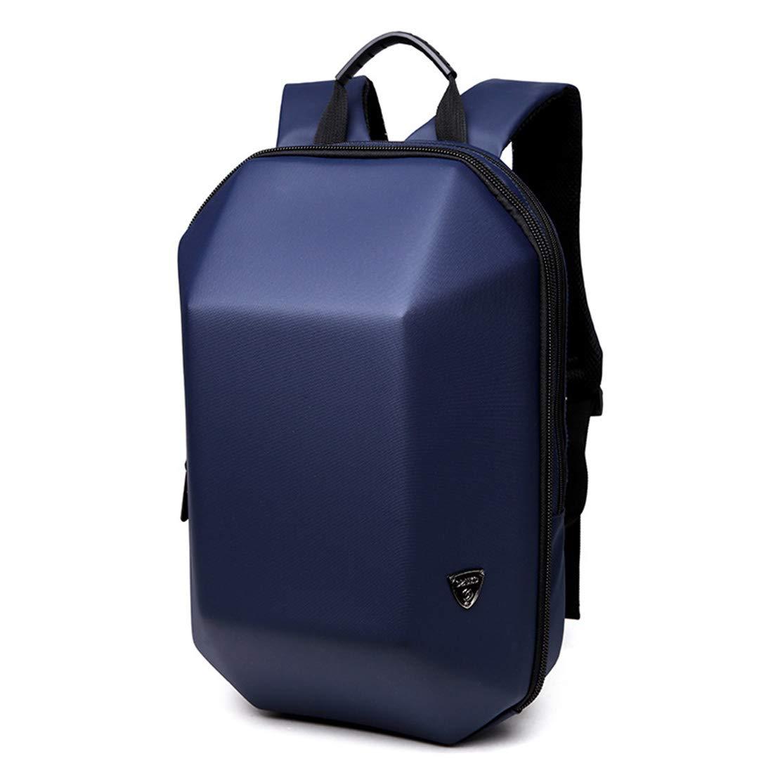 荒波が百貨店を使う メンズトラベルバックパックライトカジュアル防水オックスフォード布ラップトップデイパックコマースビジネス旅行 (色 : 青) B07SHL2FX2 青