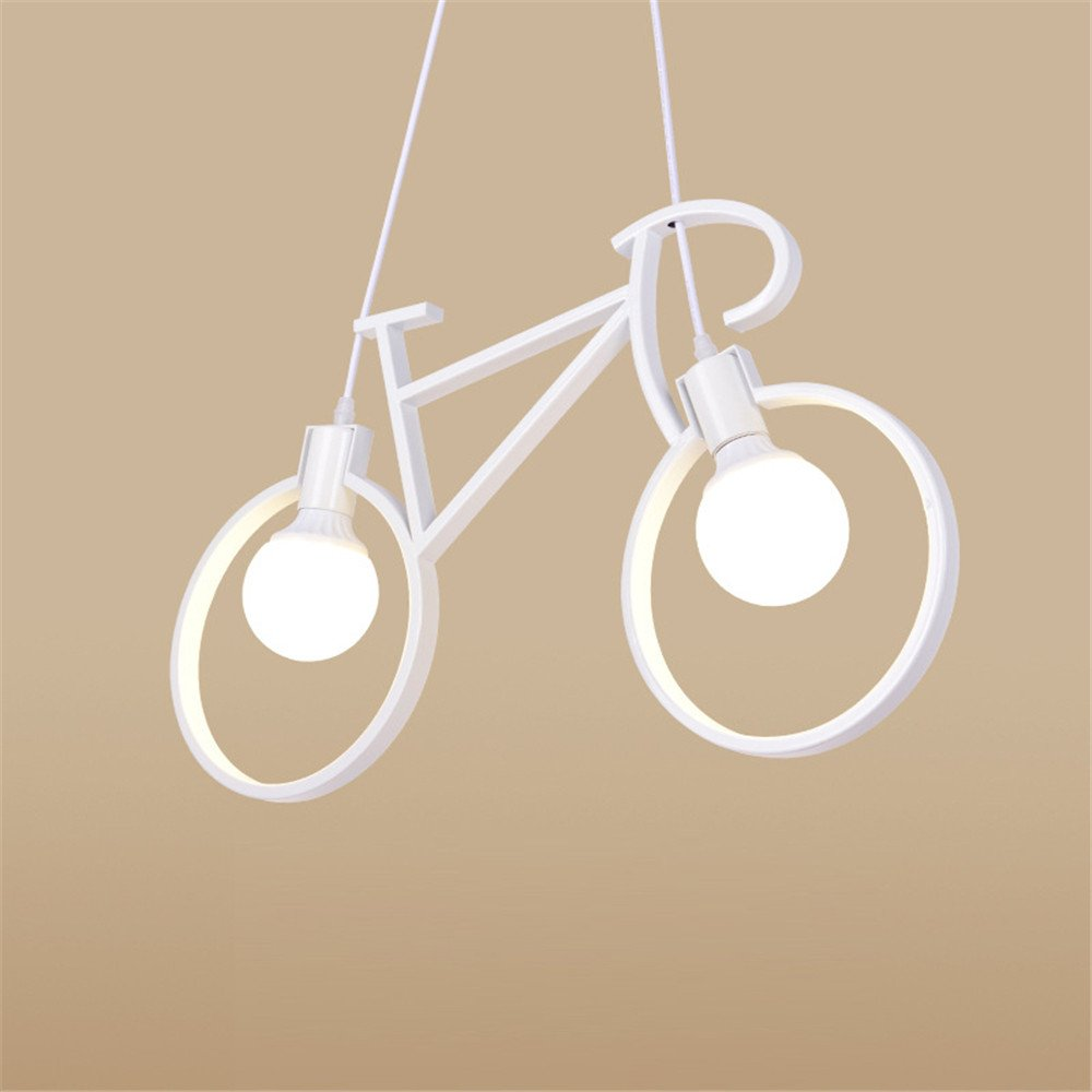 Vintage Pendant Lights Loft lamparas de techo nordic bicycle ...