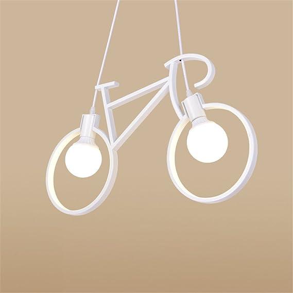 Vintage Pendant Lights Loft lamparas de techo nordic bicycle ...