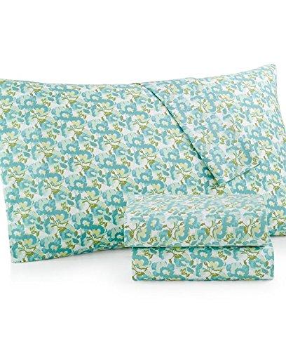 Martha Stewart 300 Tc Cotton Percale Sheet Set Size Twin Wild