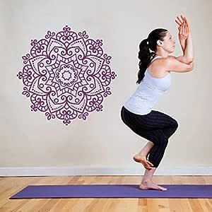 Yoga Wallpaper Moda Pegatinas de Pared para la Sala de Estar ...