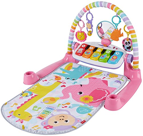 51nNtSqWlRL - Fisher-Price Deluxe Kick 'n Play Piano Gym, Pink