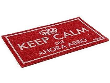 Alehop Felpudo Original Keep Calm que ahora abro