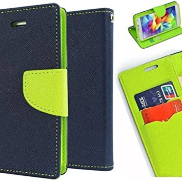 bien connu vraie qualité officiel JMD Fancy Diary Wallet Flip Cover Case For Samsung Galaxy A5-6 / A5 (2016  Edition) (Blue Green)