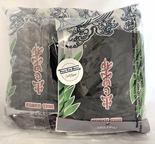 Wel-pac Dashi Kombu Dried Seaweed 4 oz (Pack of 8) in Prime Time Direct Sealed Bag