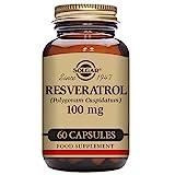 Solgar – Resveratrol 100 mg, 60 Vegetable Capsules For Sale