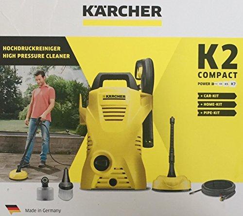 Kärcher Hochdruckreiniger K2 XXL Set + Aufsätze CAR-KIT HOME-KIT PIPE-KIT NEU