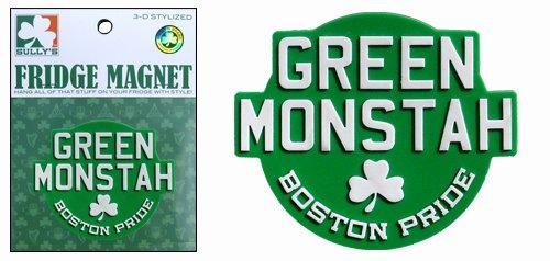 Sully's Brand Green Monstah Magnet