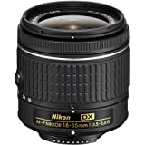 Nikon AF-P DX NIKKOR 18-55mm f/3.5-5.6G Lens for Nikon DSLR Cameras (Certified Refurbished)