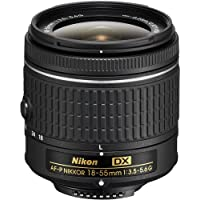 Nikon AF-P DX NIKKOR 18-55mm f/3.5-5.6G Lens for Nikon DSLR Cameras (Certified Refurbished)