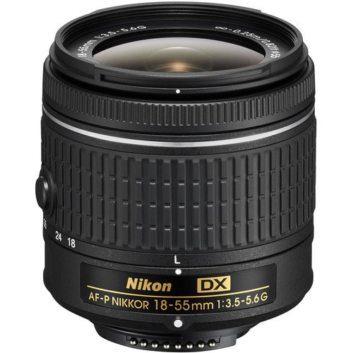 Nikon AF-P DX NIKKOR 18-55mm f/3.5-5.6G Lens for Nikon DSLR