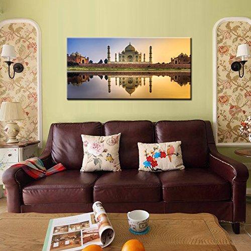 Amazon.com: Creative Art- TAJ Mahal India Palace Canvas Wall Art ...