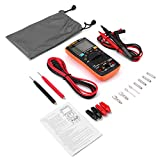 Digital Multimeter Autoranging,ANENG AN8008 True-RMS Multimeter Leads Probes Alligator Clips for AC DC Voltage Ammeter Current Ohm Meter