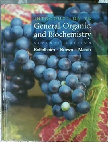 General, organic, and biological chemistry 007, h. Stephen stoker.