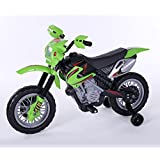 Sporty True Timber Ride On 4-Wheeler Motorbike With Lights and Music Green