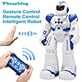 Smart Robot Toys Threeking Gesture Control & Remote Control Robot Gift for Boys
