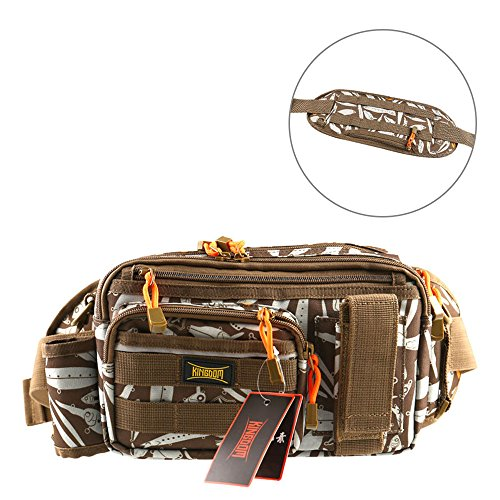 - Kingdom Outdoor Tackle Bag, Waist Storage Pack for Fishing Hunting Hiking