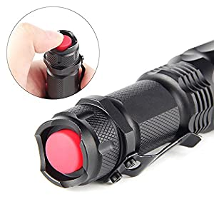 Didakay LED 500 Lumen Tactical Ultra Bright Zoomable Flashlight Torch 3 Modes