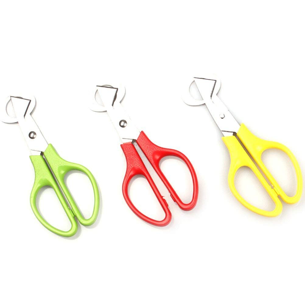 Nrpfell 1 Pcs Pigeon Quail Egg Scissor Bird Cutter Opener Kitchen Tool Clipper,Color Random by by Nrpfell (Image #2)