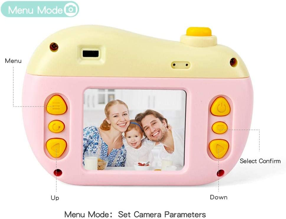 LSQ Kinder-Digitalkamera 2-Zoll-Screen-Display 8MP 2.0 HD-Kamera Mit Spielen Für Kinder Geschenke Support SD-Karte B
