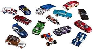 Mattel Hot Wheels V6697 - Customized Car Pack, 50er Pack