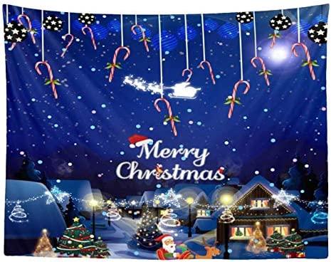 OTXA Tapiz de Navidad 7 Estilos Colgante de Pared Decoración ...
