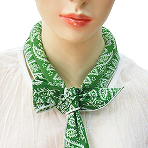 The Elixir Neck Cooling Scarf Wrap, Keep You Cool, Bandana, Green