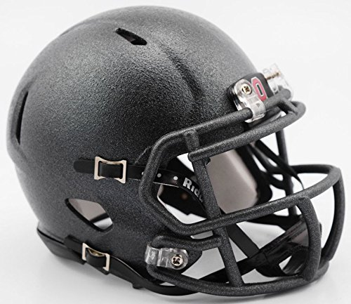 Ohio State Riddell Mini Helmet (Ohio State 2016 Alternate Black Speed Mini Helmet)