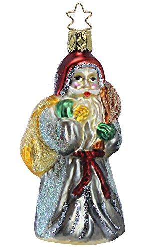 Glas Santa (Inge Glas Santa Presents or Switches 1-019-01 German Christmas Ornament)