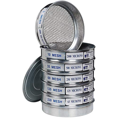 (Stainless Steel Mesh Sieve Set)