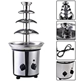 4 Tiers Commercial Stainless Steel Hot New Luxury Chocolate Fondue Fountain New ;P#O455K5/U 7RK-B290672 by Juniontaky