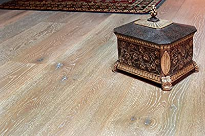 """Wide Plank 7 1/2"""" x 5/8"""" European French Oak (Nevada) Prefinished Engineered Wood Flooring Samples at Discount Prices by Hurst Hardwoods"""